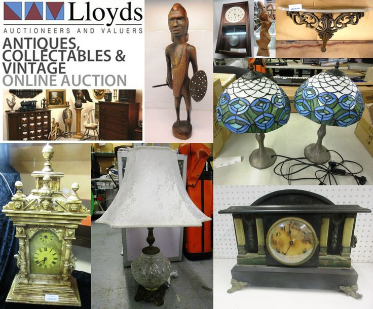 Vases, crockery, crystal, ceramics, paintings, memorabilia, clocks, figurines, books, 3 piece sets, cups & saucers & much, much more... so make your bid here: http://www.lloydsonline.com.au/AuctionLots.aspx?smode=0&aid=5815&pgn=1&pgs=100&gv=True