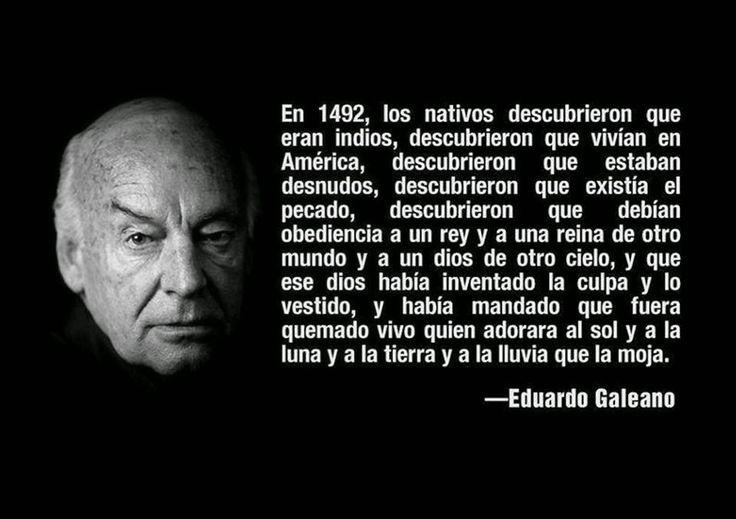 Crónicas de la Tierra sin Mal : 1.492 - Eduardo Galeano