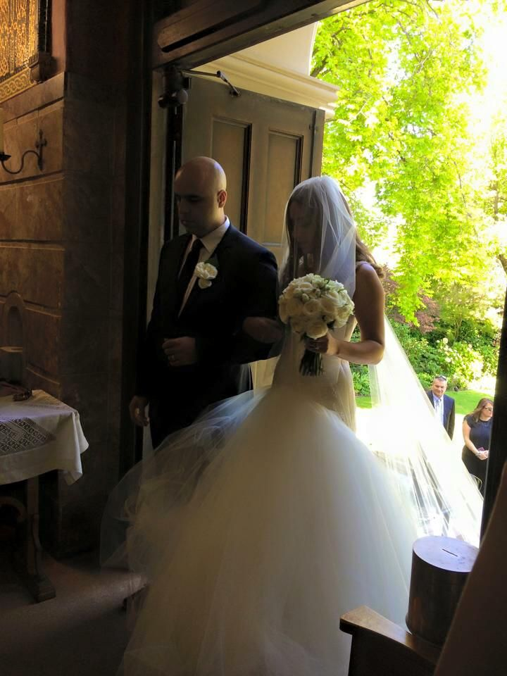 Mariana Hardwick custom couture gown - REAL BRIDE
