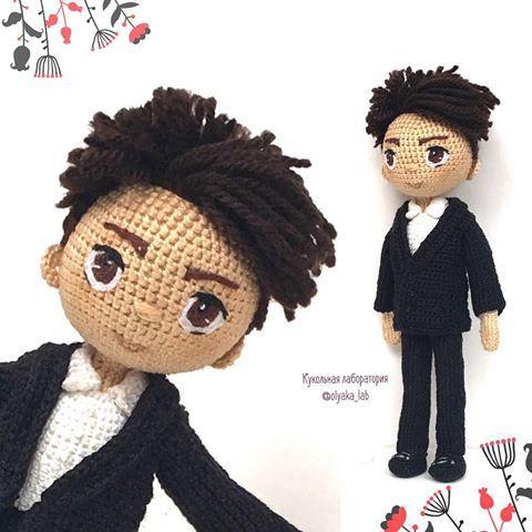 471 best ♡ Crochet Boy Dolls ♡ images on Pinterest   Boy ...