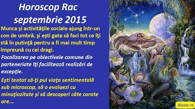 diane.ro: Horoscop Rac septembrie 2015