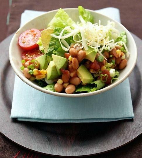 15 lunch saladsSalad Recipes, Pinto Beans, Food, Tortillas Salad, Vegetarian Recipe, Martha Stewart, Vegetarian Salad, Maine Cours, Lunches Salad