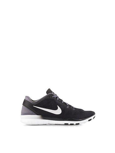 Wmns Nike Free 5.0 Tr Fit 5 - Nike - Black/White - Skor Träning - Sportkläder - Kvinna - Nelly.com