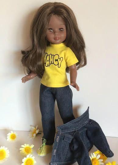 """Vestidos Para Nancy """"El Costurero De Chus"""": Blue Jeans"""