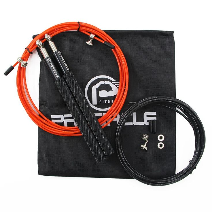 Procircle Crossfit Ultra-speed Ball Bearing Jump Rope With Free Bag
