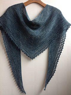 simple set fancy shawl pattern