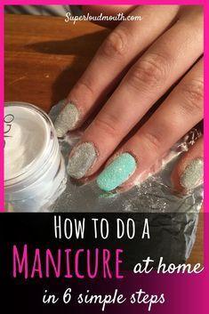 #eine #einfachen #hause #im #machen #manicureathome