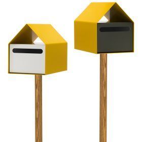 Love the Arko Letterbox in Bright Yellow