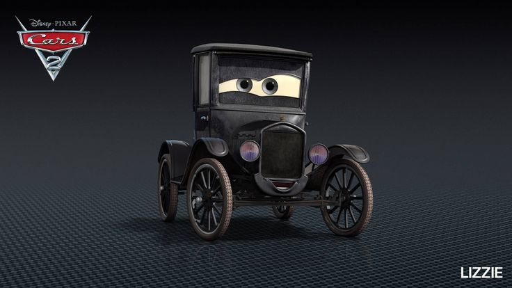 Cars 2 Characters - Characters in Disney Pixar Cars 2 - Lizzie