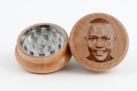 Put Your Face on a Herb Grinder! The Perfect Personalizable and Customizable Gift, Groomsmen Gift, and Holiday Gift