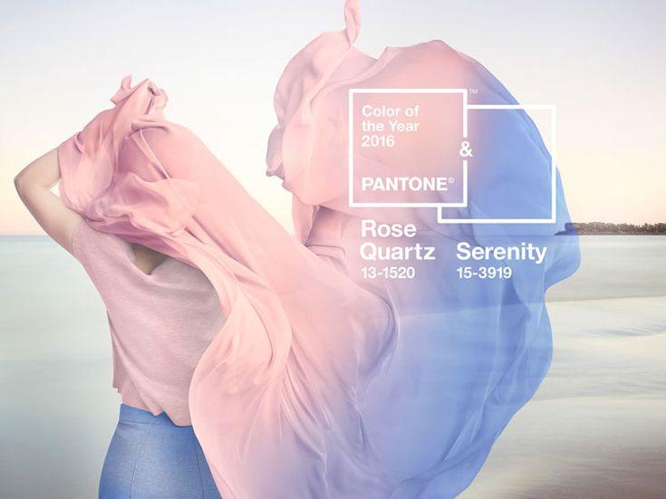 Ca y est le grand Dieu de la couleur Pantone a enfin choisi sa nouvelle couleur pour l'année 2016. Plutôt devrais-je dire ses couleurs, et oui, et cela pour la première fois, ce n'est pas une seule couleur mais deux qui seront couleurs de l'année, Rose Quartz et Serenity. &qout;Alors que les consomma…