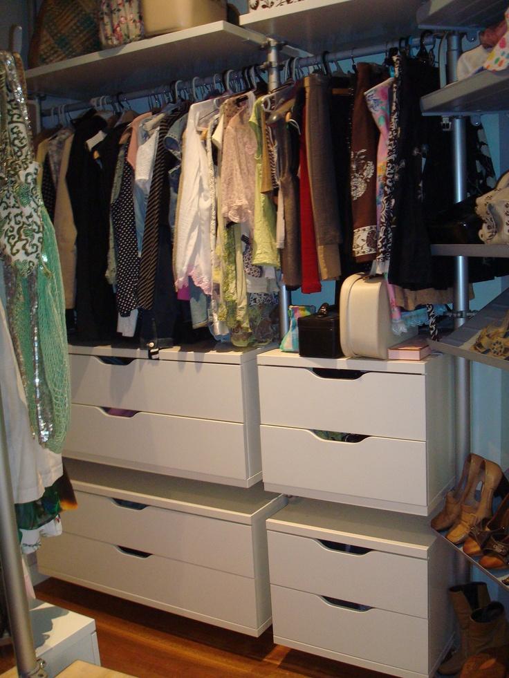 1000 ideas about ikea walk in wardrobe on pinterest. Black Bedroom Furniture Sets. Home Design Ideas