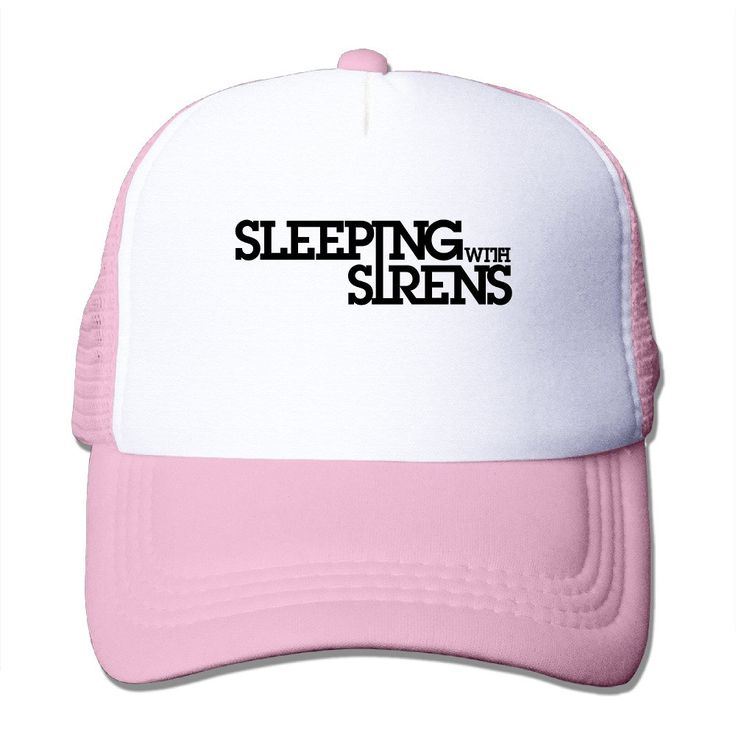Cool Sleeping With Sirens Band Logo Cap -- Awesome products selected by Anna Churchill