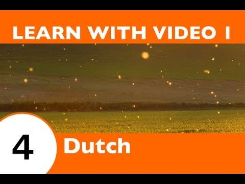 Learn Dutch with Video - Dutch Vocabulary for Insects Doesn't Have to Bug You Any Longer! - YouTube