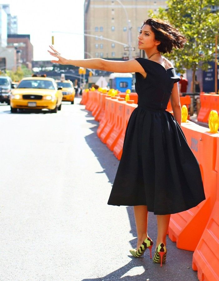 Маленькое черное платье 2.0 Миди-вариант 7