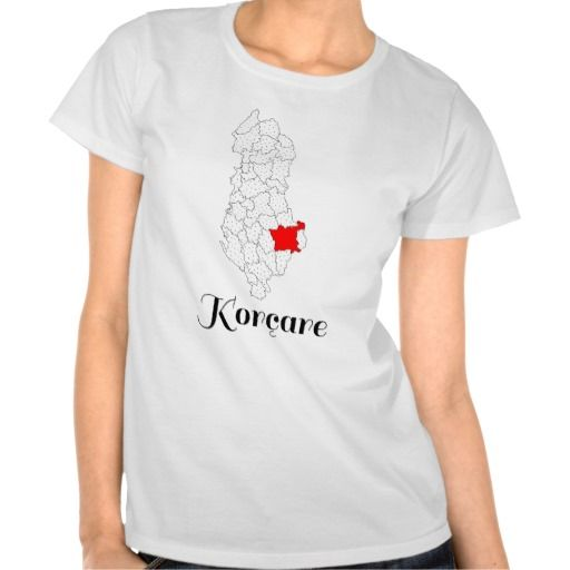 Korcare - Tee Shirt - bluze - Rrethi i Korces - Albania Korca District - (Please note that the name is that of a female dweller, and not the name of the district) - #shqip #shqiptare #shqiperia #tshirt