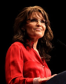 Sarah Louise Palin is an American politician, commentator and author. She is both the youngest person and first woman to be elected Governor of Alaska. As the Republican Party nominee for Vice President in the 2008 presidential election, she was the first Alaskan on the national ticket of a major party and first Republican woman nominated for the vice presidency. Since January 2010, she has endorsed and campaigned for the Tea Party movement and provided political commentary for Fox News.