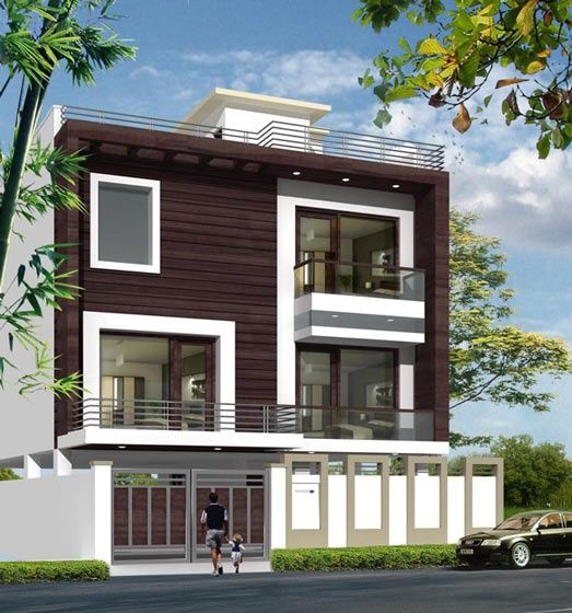 Indian house exterior designs pictures