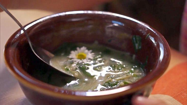 Kamilčina bylinková polévka — Recepty — Kouzelné bylinky — Česká televize