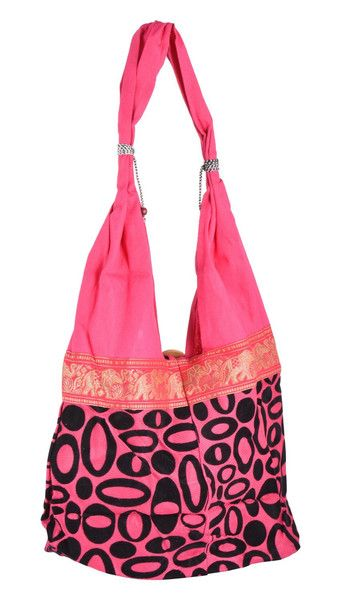 Handbag – Women Beach Hippie Bohemian Cotton Bags Use – a unique product by IndianCraftPalace on DaWanda