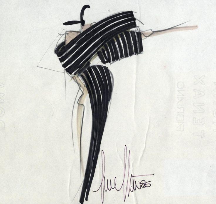 1986-1989 - The creation of Alta Moda collection by Gianfranco Ferré Home
