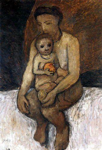 Paula Modersohn-Becker - Mother and Child
