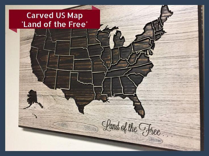 Best Wooden World Maps Images On Pinterest World Maps Wood - Free customizable us map
