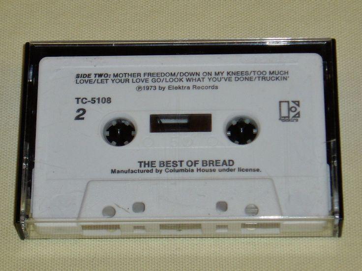 The Best of Bread Music Cassette