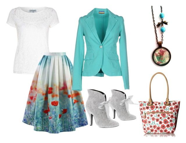 """""""Poppy"""" by hemos on Polyvore featuring Alice & You, Chicwish, Mojo Moxy, Tignanello and MET"""