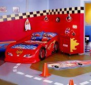 How to decorate a child room Disney Cars Toys Style12 best racecar bedroom images on Pinterest   Bedroom ideas  Boy  . Race Car Themed Room Ideas. Home Design Ideas