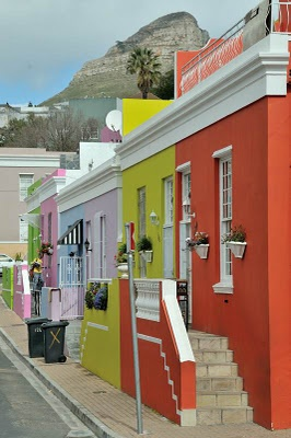 in the Bo Kaap neighborhood of Cape Town, South Africa