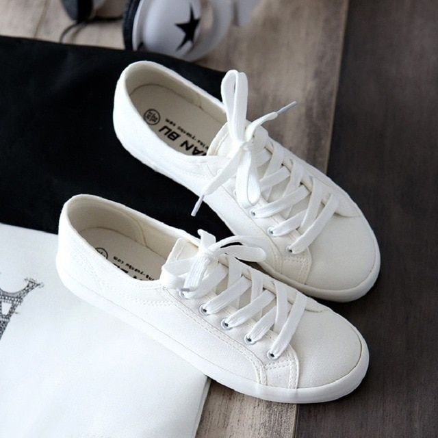 Flat Trainers Ladies Outdoor Shoes PU27