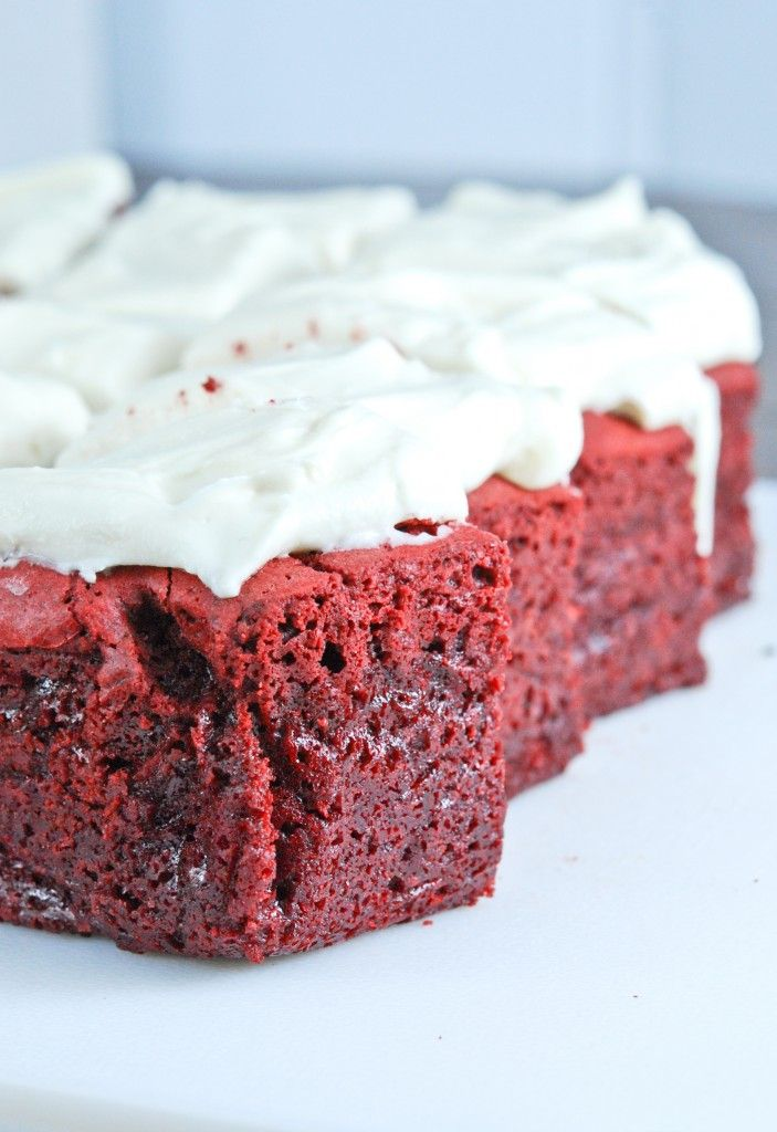 Red Velvet Brownies - Gonna Want Seconds