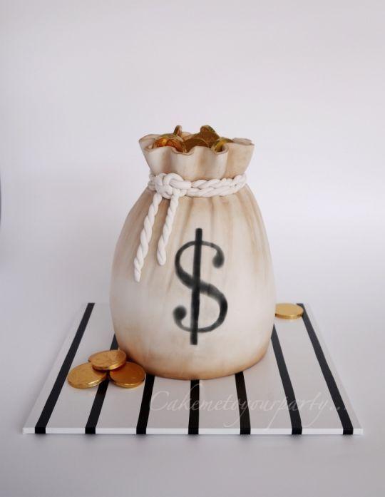 121 Best Money Cake Images On Pinterest Money Cake