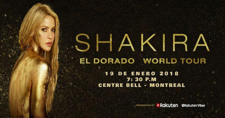 Shakira llega a Montreal