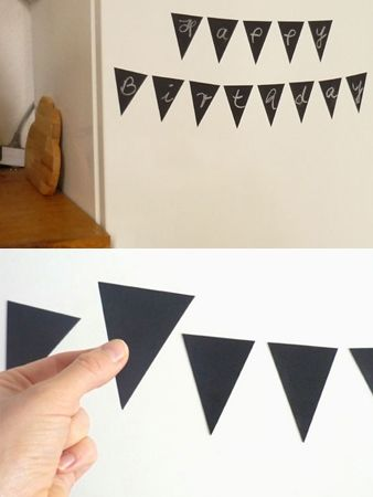 www.mrsparrow.com.au.  $28. Magnetic Blackboard Flags
