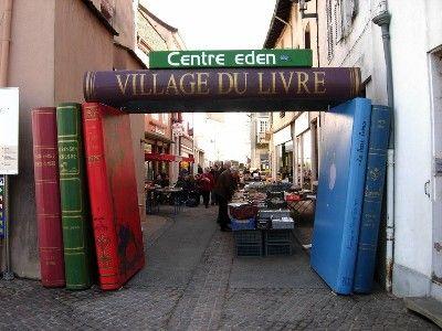 Village du livre de Cuisery