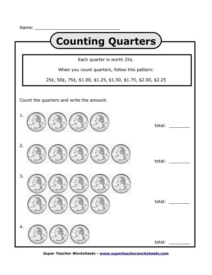 counting quarters worksheets bing images homeschool money worksheets kindergarten. Black Bedroom Furniture Sets. Home Design Ideas