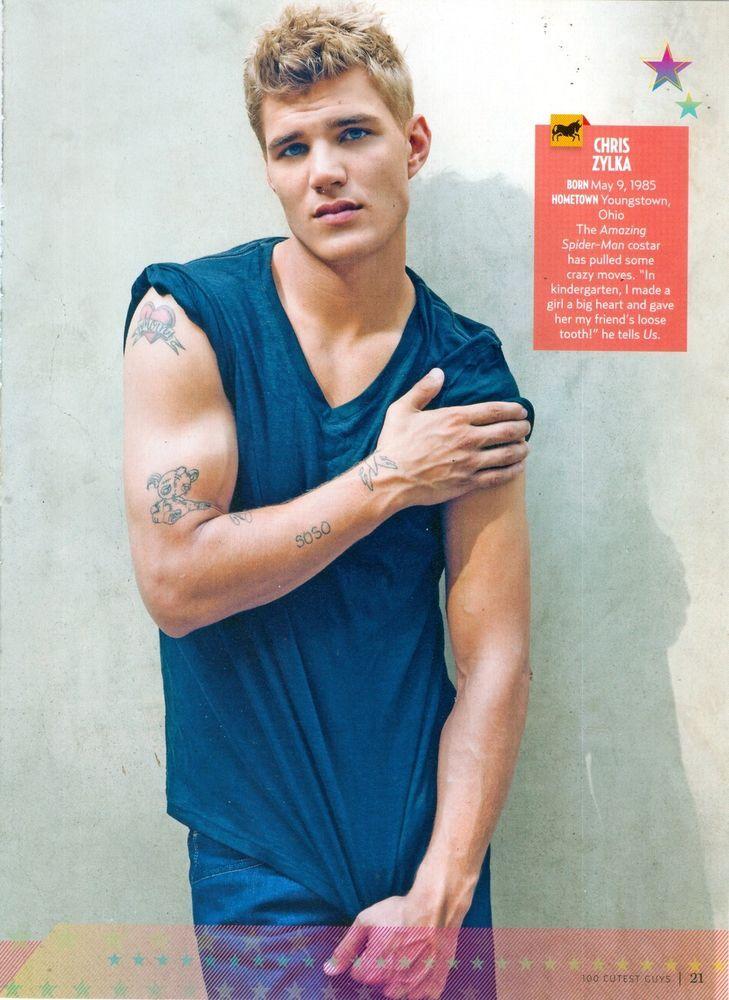 Chris Zylka Taylor Lautner SHIRTLESS Teen Boy 11x8 Magazine Pinup Poster | eBay