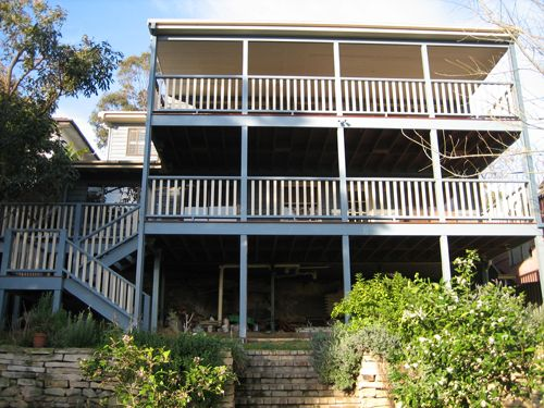 Two Story Decks With Stairs Decking And Deck Building