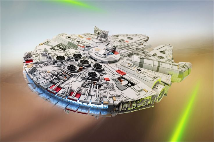 Faucon Millenium UCS Star Wars 7 - MOC LEGO Star Wars de 7500 pièces