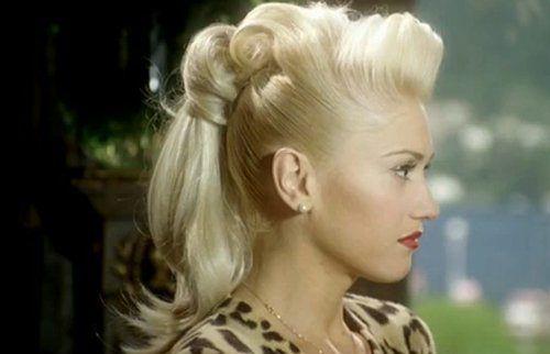 Seksi at kuyruğu saç modelleri - Gwen Stefani