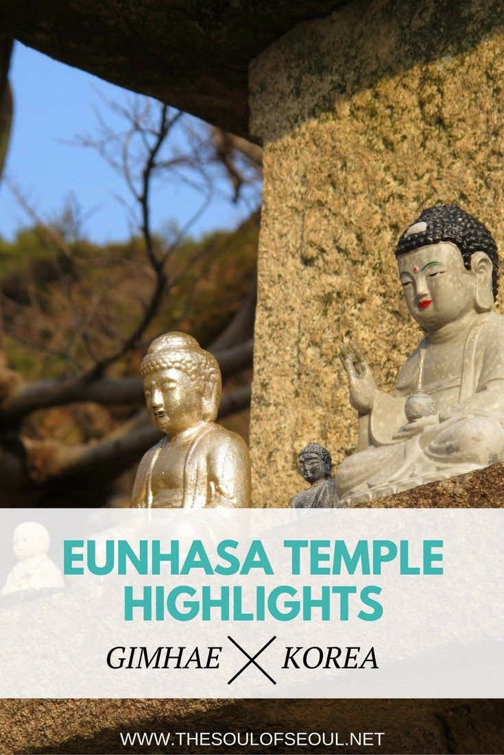 Eunhasa Temple, Gimhae, Korea: Eunhasa Buddhist Temple in Gimhae, Korea sits up in the mountains quiet and beautiful. Check out the photographs here. This Buddhist temple on a mountain in Gimhae Korea is a great stop on a hike in the region.
