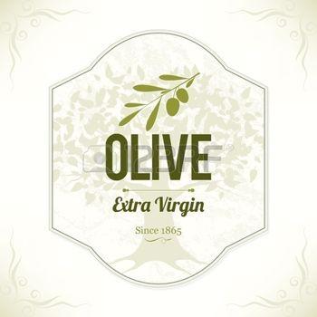 Olive label photo