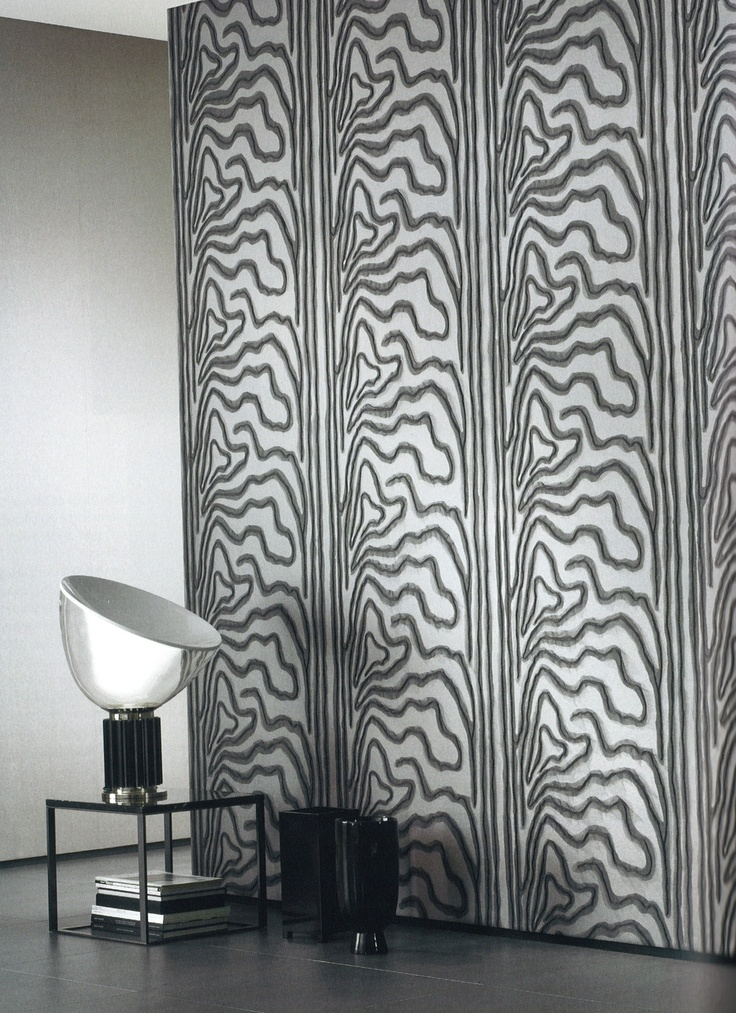 Sahco Fine Wallcoverings in Centro and Moire
