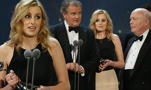 Downton Abbey wins Best Drama prize at the National TV Awards