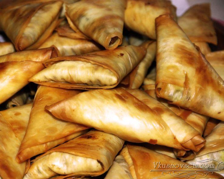 Индийские самосы с армянским лавашом - Закуски из лаваша - Рецепты - Вкусные рецепты на каждый день