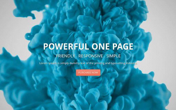 Deusone - Responsive One Page Template