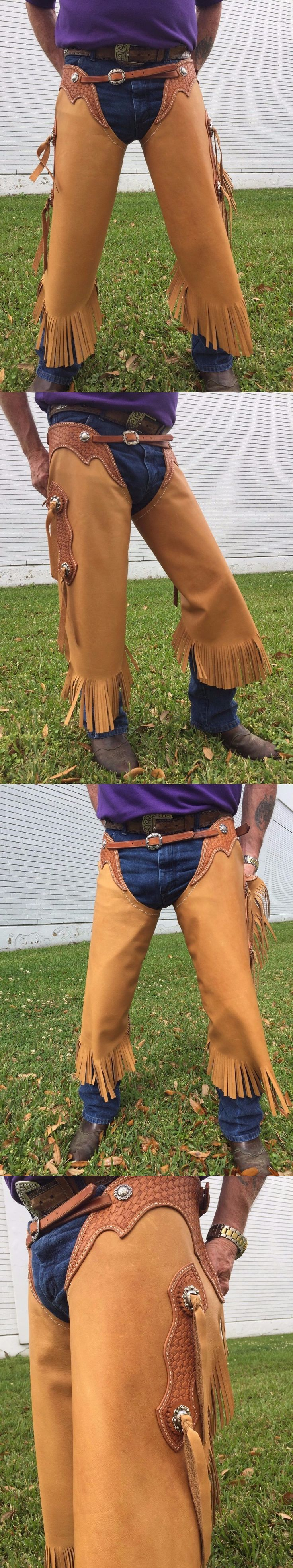 Western Chaps Full Chaps 183358: Hand Made Western Chinks -> BUY IT NOW ONLY: $185 on eBay!