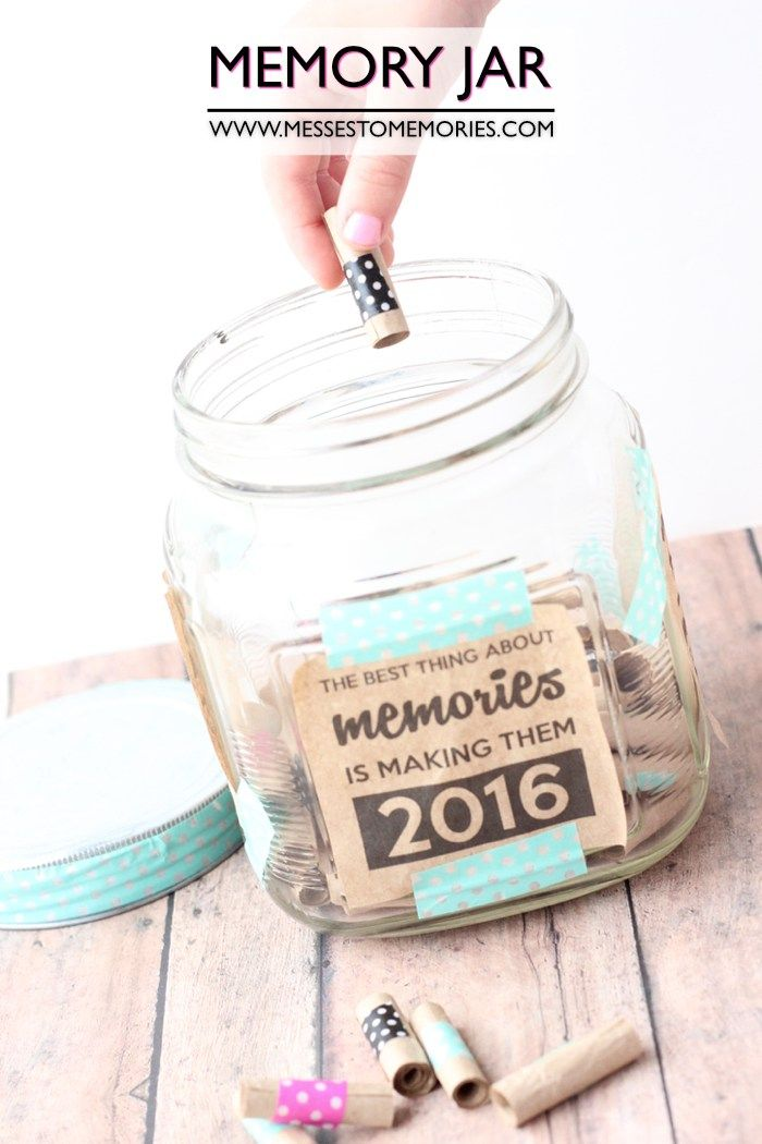 Memory Jar For Remember All The Favorites Memory Jar Memory Jar Printable Memory Jar Graduation